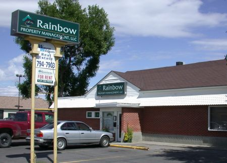 Rainbow Property Management entrance